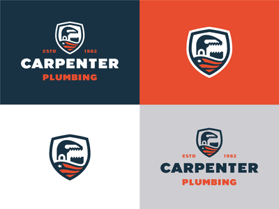 Carpenter Plumbing Logo