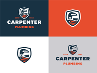 Carpenter Plumbing Logo