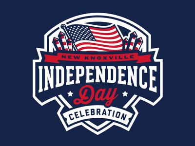 Independence Day: Update independence 4th july design usa america fireworks banner brand flag badge logo