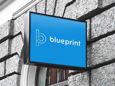 BluePrint Logo identity blueprint brandmark symbol brand logo