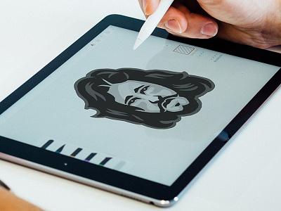 Jon Snow sketch got bust face game of thrones jon snow illustration