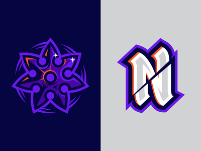 Esports Logo Continued gaming gamer sports esports customtype type identitysystem identity brand ninjas badge logodesign logo ninja