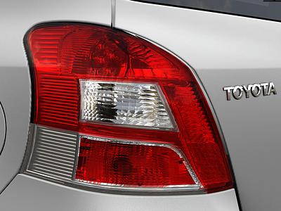 Yaris taillight detail 3D Design motion design 3d art