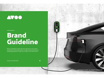 Avoo Brand Guideline 01 01 media app vector illustrator illustration design art logo graphic design branding