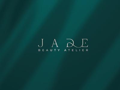 Jade Beauty Atelier | Brand Book lifestyle makeup nails hairstyle woman fashion atelier salon beauty vector illustrator illustration design art logo graphic design branding