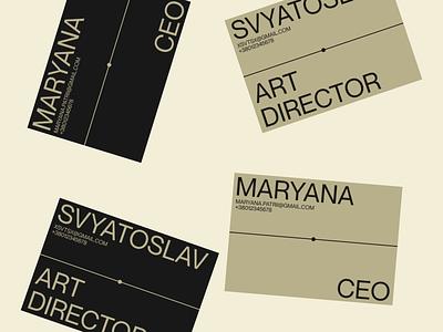 Descart card typo identity print bussines cerad bussines card typography descart branding graphic design design