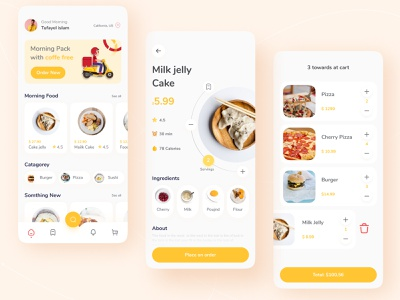 Food app design minimal icon ux ui app food app ui food uiux food delivery foood app ui food app food