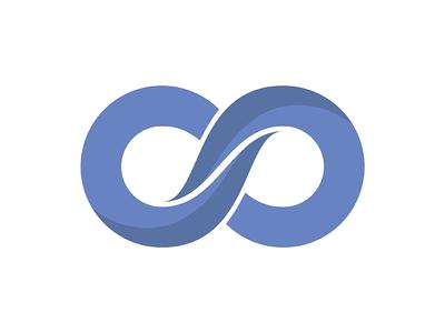Connexion Logo friendship infinity blue water connexion logo
