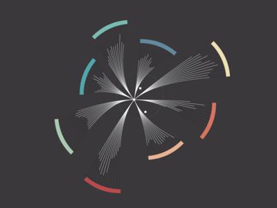 Interactive flight visualisation abstract design interface visualisation flight interactive