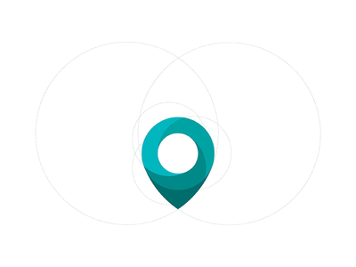Map Dot Logo Illustration illustration symbol map petrol swirl fluid dot icon logo