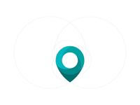 Map Dot Logo Illustration