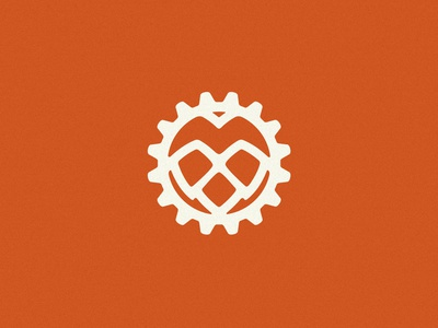 The Brewing Projekt Logo brewery gear beer texture type design graphic design branding logo