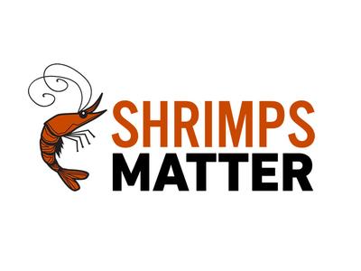 Shrimps Matter Logo shrimp logo