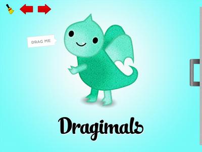 Dragimals home screen kids game ipad