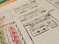 Early Wireframes