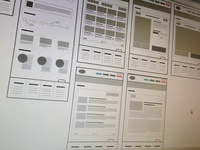 Wireframes wireframe sketch web illustration concept site ux structure ia