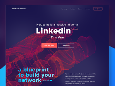 Ndribbbling  vector business course career influence blueprint network linkedin