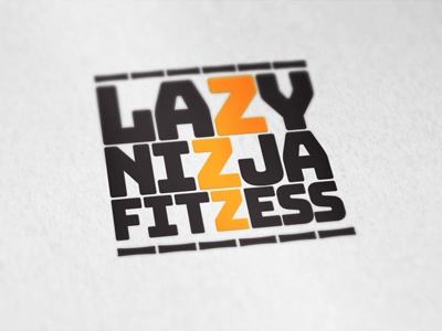 Lazzzy sleep z logo lazy