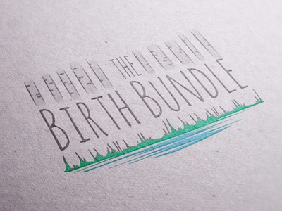 the Birth Bundle Package animals forest birth aspen trees