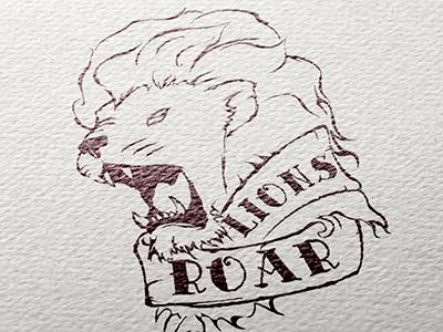 Lions Roar boxing roar lion