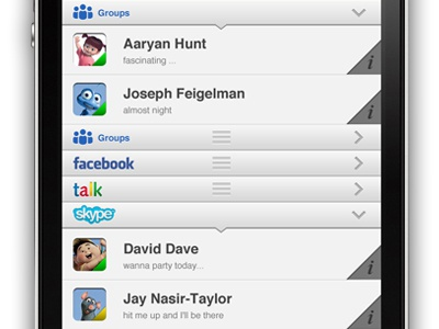 Chat App chat application app ui user
