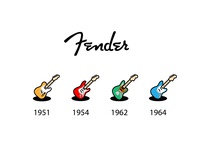 Fender icons