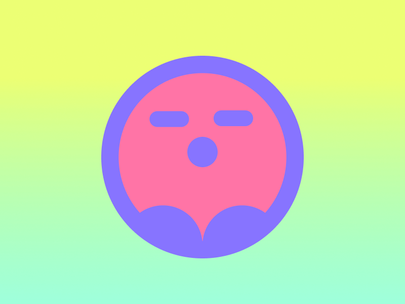 Ghost Blob vector illustration