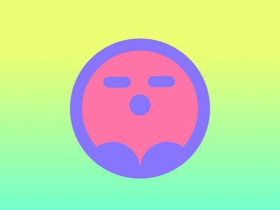 Ghost Blob vector illustration