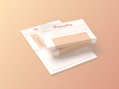 ProtoPie's Newspaper 3dpaper paper blog article newsletter editorial inspiration magazine design newspaper website 3dmodel 3d protopie