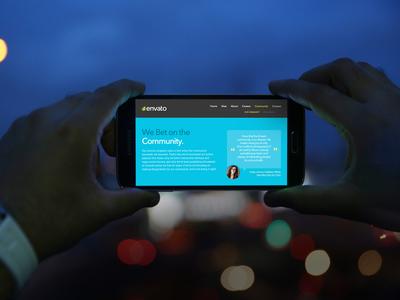 Samsung Galaxy S5 Mock-Up