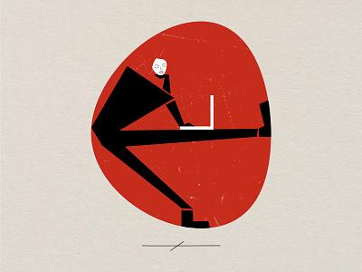 Red circle red circle red logo branding design art illustration graphic design digital