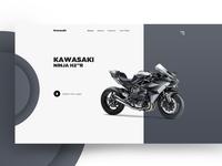 Kawasaki Website Concept