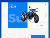 Suzuki GSX-S Landing
