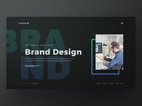 Homepage Concept for Fusionlab