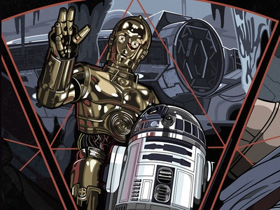 May the 4th Be With You! #starwars #R2D2 #C3PO