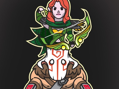 LANE BUDDIES: Windranger & Juggernaut