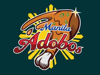 Food Sports Logo Series: Manila Adobos