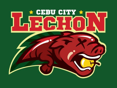 Food Sport Logo Series: Cebu City Lechon