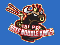 Food Sport Logo Series: Tai Pei Beef Noodle Kings
