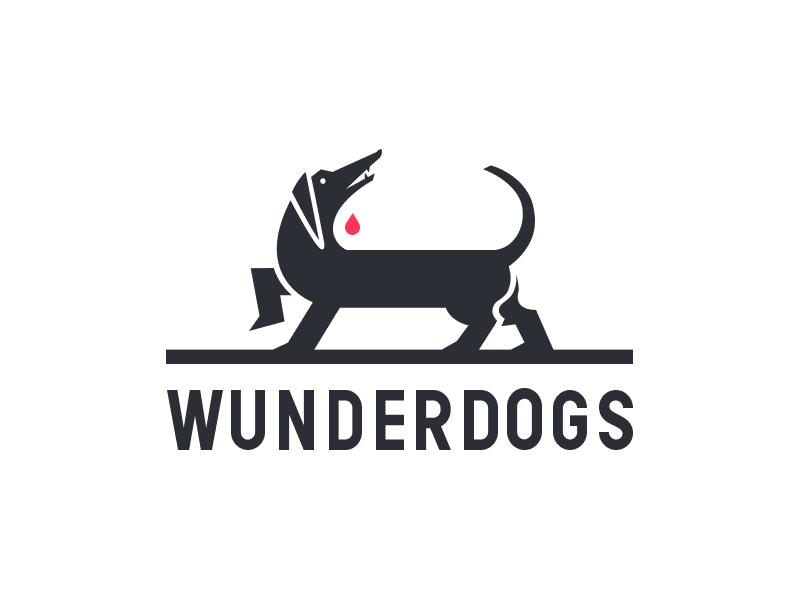 Wunderdogs graphic logo dog
