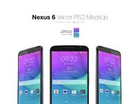 Nexus 6 mockup by litvin vladislav