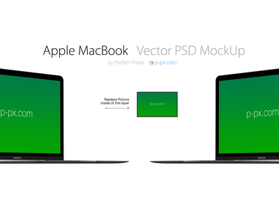 Free Apple  brand new MacBook Vector PSD + AI (All Colored) retina apple new macbook mac 2015 mockup template psd freebie free