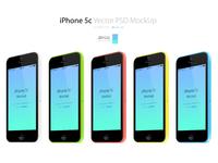 Iphone 5c 3 4view psd mockup p px.com