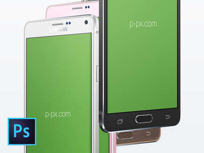 Samsung Galaxy Note 4 3/4-View PSD-MockUp samsung galaxy note 4 freebie free template mockup psd device android p-px