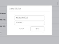 Add a network
