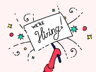 Parlor is hiring a new designer! startup animation brand design graphic design web design hiring