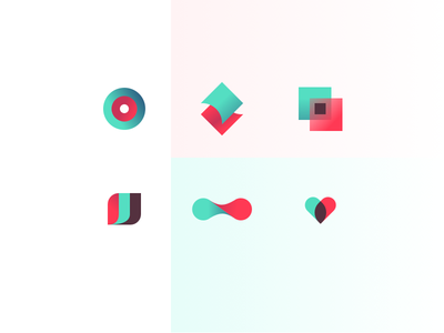 Parlor Services Icons funnel arrow flex heart services icons