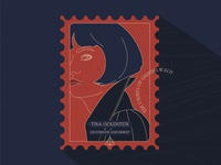 Stamp | Tina Goldstein | The Crimes of Grindelwald