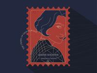 Stamp   Queenie Goldstein   The Crimes of Grindelwald