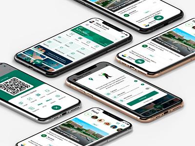 📱Miiii - A simpler life. qrcode fintech design interface ios startup ux community app